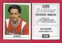 Manchester City Ian Bishop 158